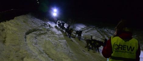 Dag Torulf ankommer Neiden 2 sent i går kveld. Foto: Ole Chr. Gulbrandsen