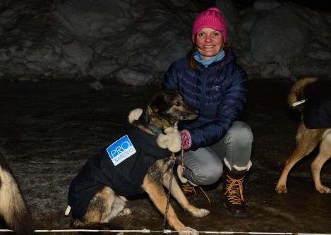 Shep er klar for innsats og stiller i år med Pro Barents på sida. Foto: Ivar Sørnes