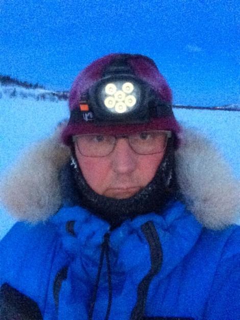 Selfie underveis: Dag Torulf.