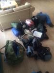 Dag Torulf har til og med husket alt personlig utstyr ;)
