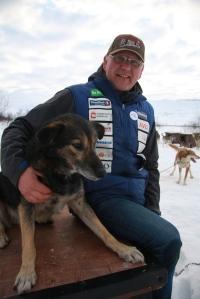 Dag Torulf har fremdeles Iditarod i kroppen.  Foto: Eirik Palm
